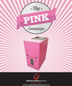 OTTAWA HOME SERVICES - Go pink in home heating and help the Canc
